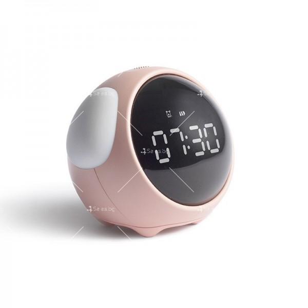 Емоджи часовник-аларма с голям цифров дисплей TV682 3