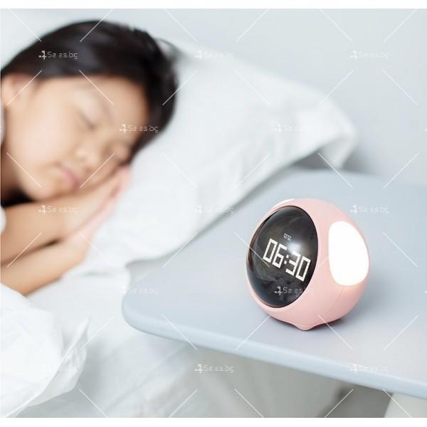 Емоджи часовник-аларма с голям цифров дисплей TV682 9