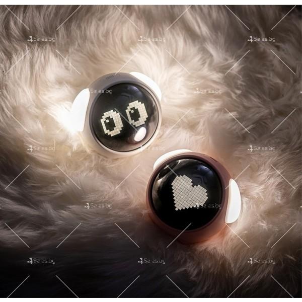Емоджи часовник-аларма с голям цифров дисплей TV682 10