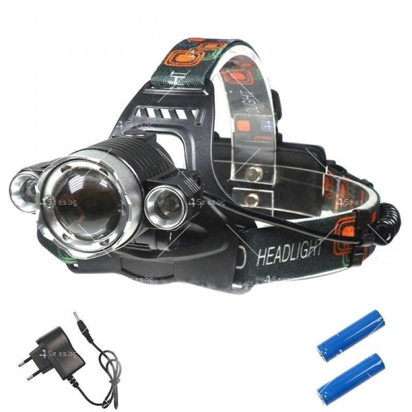 Водоустойчив фенер челник за глава FL24B 4