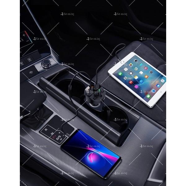 Bluetooth трасмитер за кола със семпъл и изчистен дизайн HF38 2