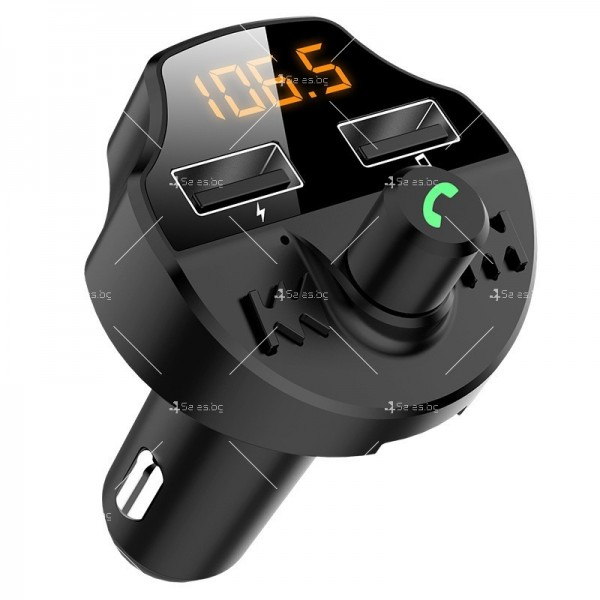 Bluetooth трасмитер за кола със семпъл и изчистен дизайн HF38 6