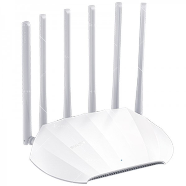 Домашен безжичен WiFi рутер с шест антени FAST FAC1901R - WF26 3