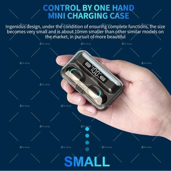 Безжични слушалки със зареждаща кутия с LED дисплей YW-А13 - EP13 17