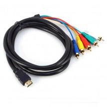 Високоскоростен HDMI кабел от ново поколение с 5 конектора 4 х1080p CA30