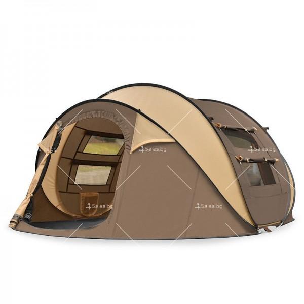 Палатка с автоматичен механизъм на сглобяване предназначена до 4 души - PALAT8