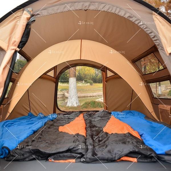 Палатка с автоматичен механизъм на сглобяване предназначена до 4 души - PALAT8 2