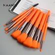 Професионален комплект четки за грим от 10 части в различни цветове HZS249 5