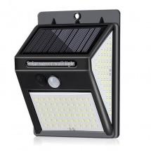 Соларна LED лампа за стена на открито със 150 диода - H LED29