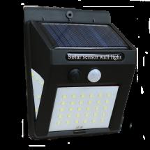 Соларна LED лампа за стена на открито с 40LED диода - H LED26