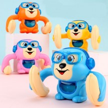 Бебешка играчка търкаляща се маймунка, дистанционно управление чрез пляскане WJ23