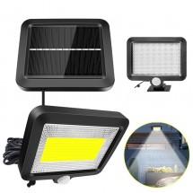 Соларна индукционна лампа от две части с 56 LED и 100 COB диода - H LED27/16