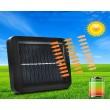 Соларна индукционна лампа от две части с 56 LED и 100 COB диода - H LED27 6