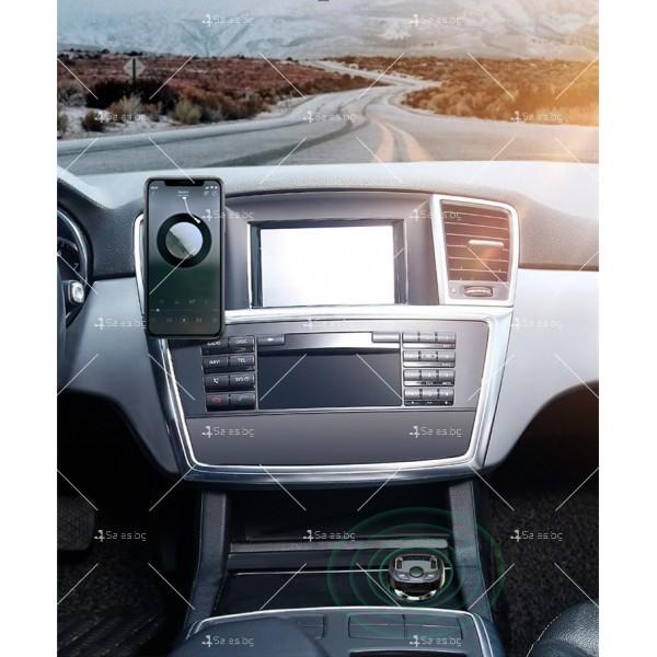Автомобилно Bluetooth и MP3 fast charging зарядно устройство Baseus T Cat - HF60 8