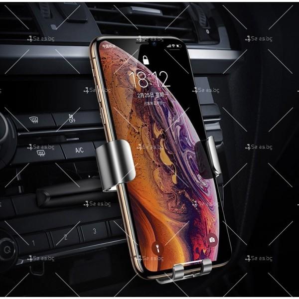 Метална стойка за телефон за кола с 360 градуса въртене Baseus - ST22 6