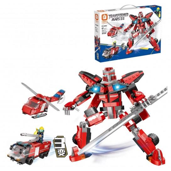 Детска играчка робот трансформарс - wj8