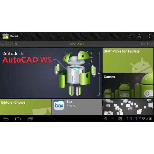 "Най-нов таблет 10"" Android 4, 1GB RAM, българско меню 3"