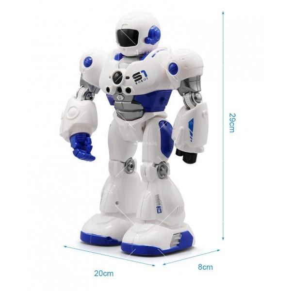 Интелигентен робот Mocha Cops S1 с дистанционно управление WJ28 4
