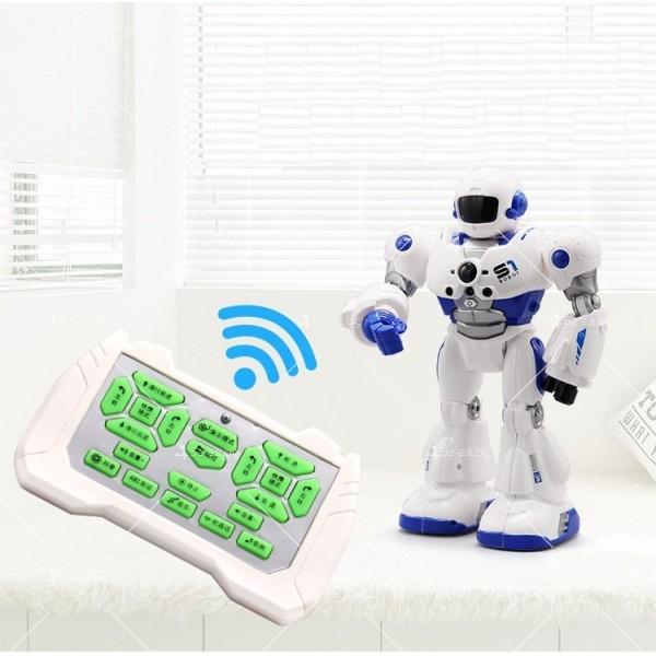 Интелигентен робот Mocha Cops S1 с дистанционно управление WJ28 8
