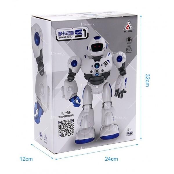 Интелигентен робот Mocha Cops S1 с дистанционно управление WJ28 9