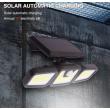 Соларна LED лампа за стена на открито с три глави и LED и COB диоди - H LED28 5