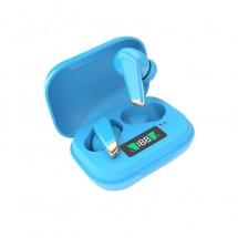 Безжични слушалки със зареждащ се кейс в различни цветове EP22