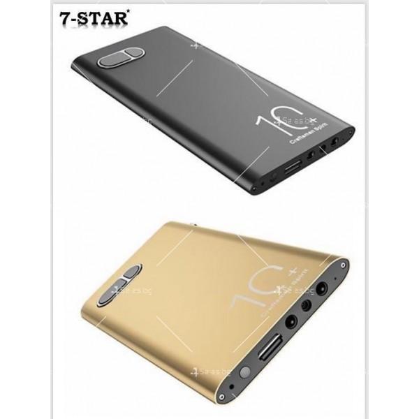 Скрита камера във формата на преносима батерия за телефон с 10-часов запис IP18 14