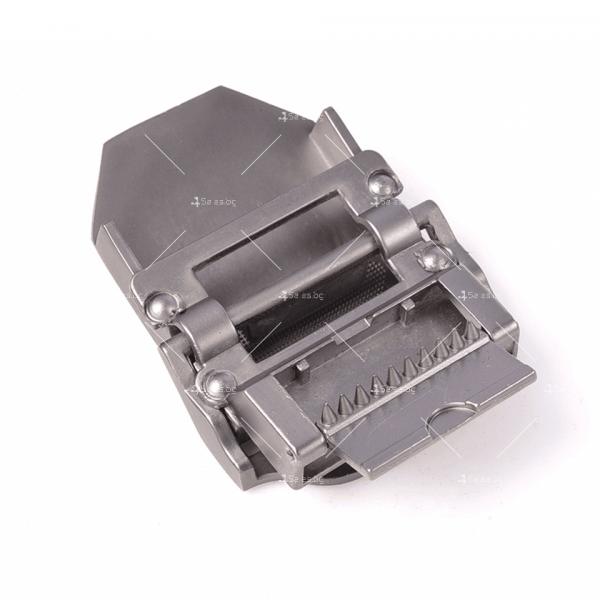 Тактически колан с метална катарама в сребрист цвят 5.11 3