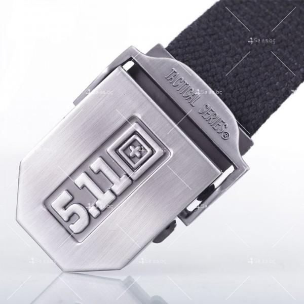 Тактически колан с метална катарама в сребрист цвят 5.11 8