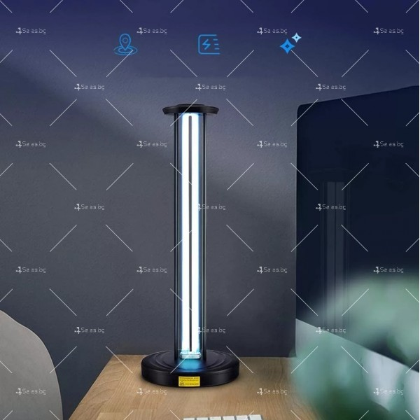 UV антисептична лампа за стерилизация с мощност от 65W - CY-38F 4