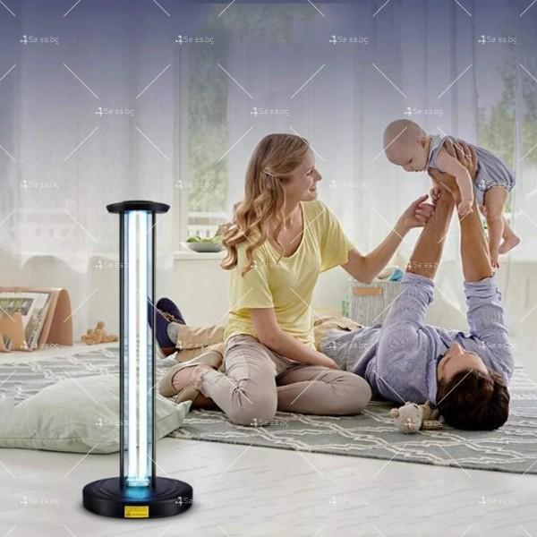 UV антисептична лампа за стерилизация с мощност от 65W - CY-38F 6