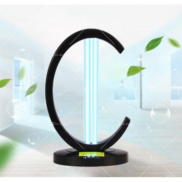 UV лампа за дезинфекция с озон и мощност от 38W - CY-38I 2