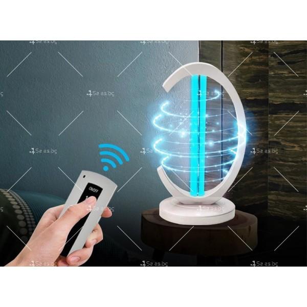 UV лампа за дезинфекция с озон и мощност от 38W - CY-38I 5