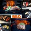 Незалепващи тефлонови подложки за барбекю от фибростъкло 5 броя TV746 4