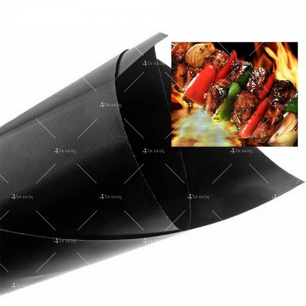Незалепващи тефлонови подложки за барбекю от фибростъкло 5 броя TV746 6