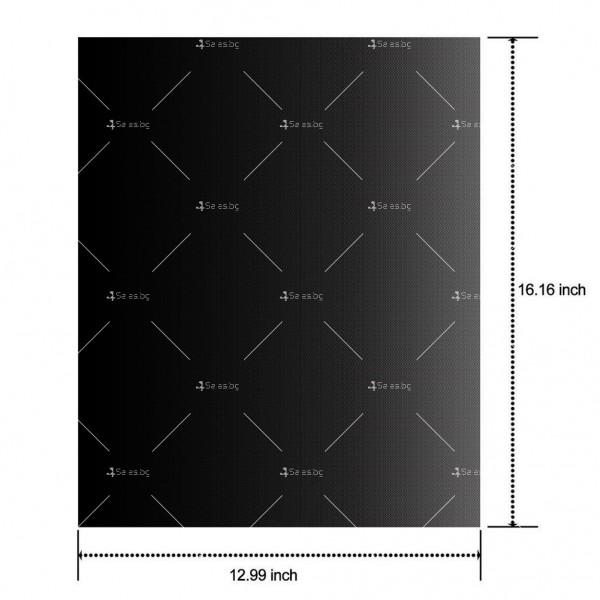 Незалепващи тефлонови подложки за барбекю от фибростъкло 5 броя TV746 9