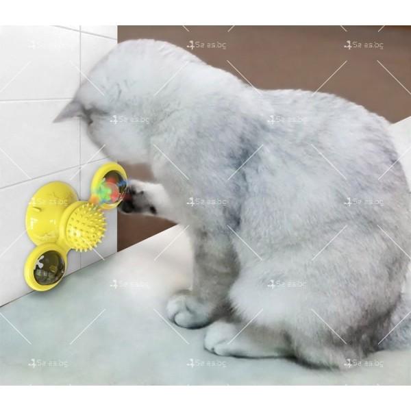 Интерактивна въртяща се играчка за котки вятърна мелница TV750 4