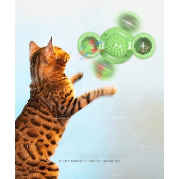 Интерактивна въртяща се играчка за котки вятърна мелница TV750 6
