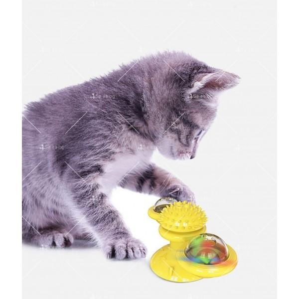 Интерактивна въртяща се играчка за котки вятърна мелница TV750 7