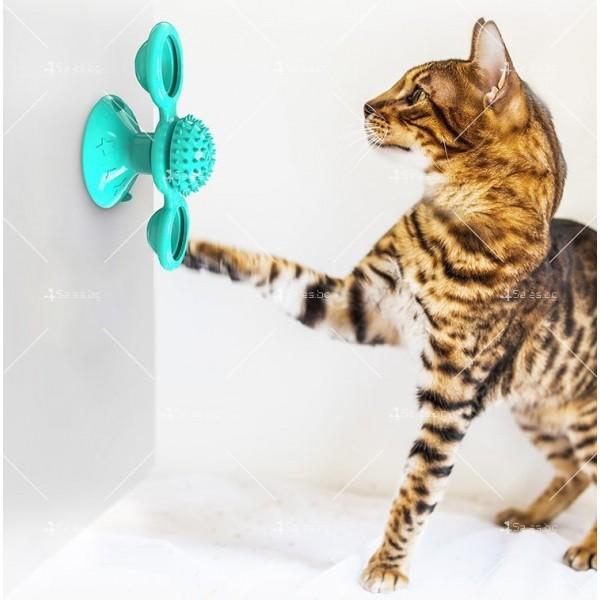Интерактивна въртяща се играчка за котки вятърна мелница TV750 10