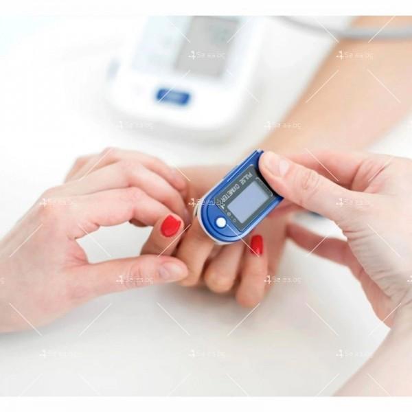 Устройство за измерване на пулса и кислорода в кръвта в домашни условия TV504 3