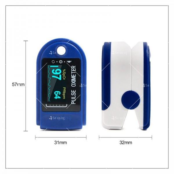 Устройство за измерване на пулса и кислорода в кръвта в домашни условия TV504 6