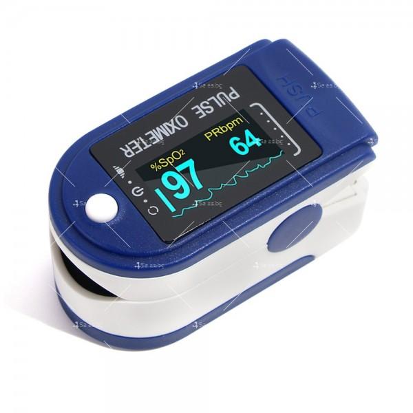 Устройство за измерване на пулса и кислорода в кръвта в домашни условия TV504 7