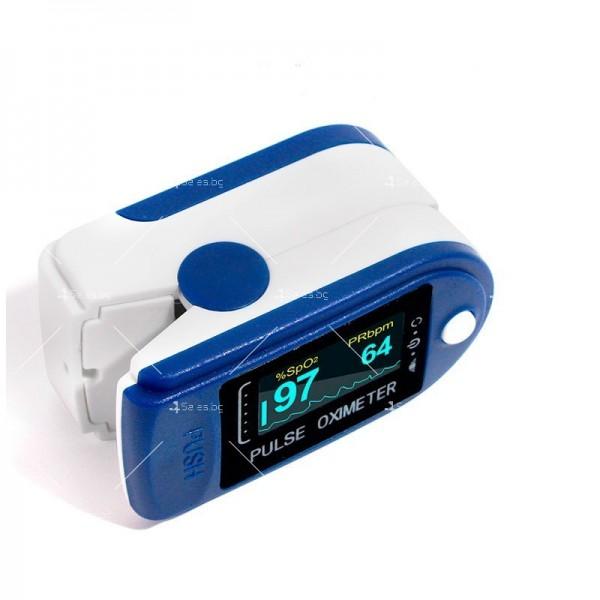 Устройство за измерване на пулса и кислорода в кръвта в домашни условия TV504 8