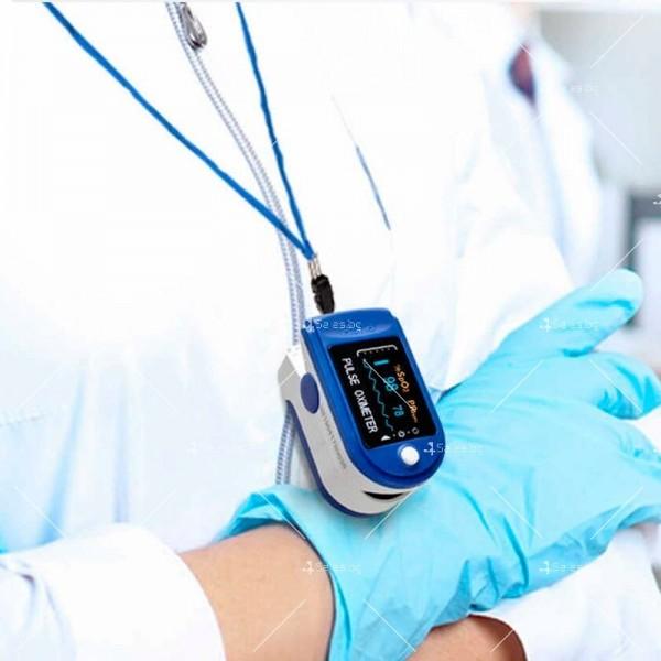 Устройство за измерване на пулса и кислорода в кръвта в домашни условия TV504 10
