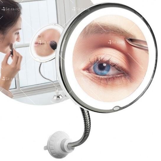 Оптично огледало с LED светлина, вакуумно захващане и10x оптично увеличение TV493