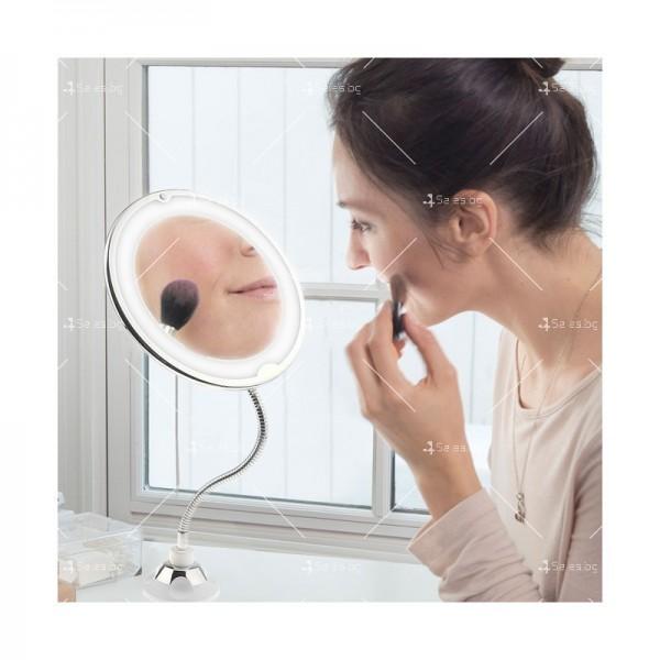 Оптично огледало с LED светлина, вакуумно захващане и10x оптично увеличение TV493 4