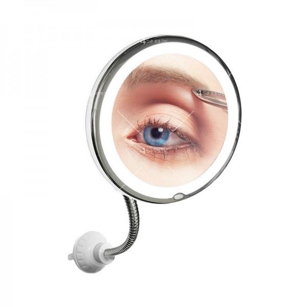 Оптично огледало с LED светлина, вакуумно захващане и10x оптично увеличение TV493 5