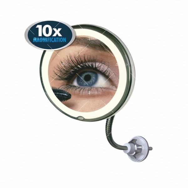 Оптично огледало с LED светлина, вакуумно захващане и10x оптично увеличение TV493 7