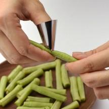 Стоманени протектори за пръсти за рязане на зеленчуци и белене на ядки TV774